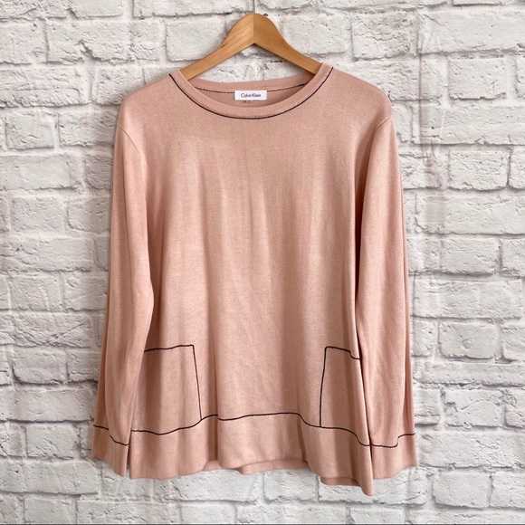 Calvin Klein Blush Pink Sweater